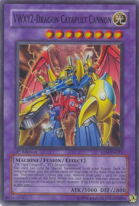 Super Rare Single Card Vwxyz Dragon Catapult Cannon Een En031